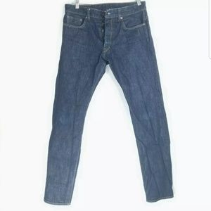 Railcar Finegoods Mens 34x34 Jean's Slim Straight